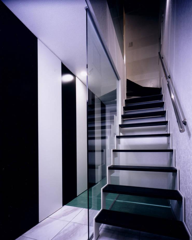 ระเบียงและโถงทางเดิน โดย 加藤將己/将建築設計事務所, โมเดิร์น