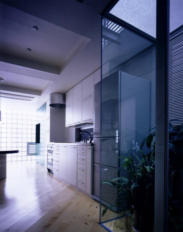 ระเบียง, นอกชาน โดย 加藤將己/将建築設計事務所, โมเดิร์น