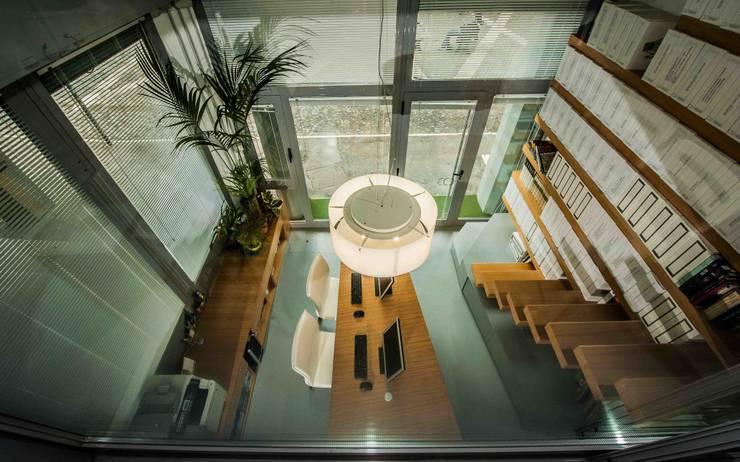 studio di architettura Comes Del Gallo의  서재 & 사무실