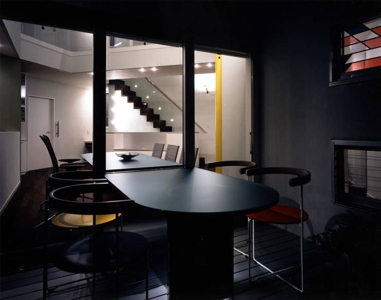 大田原の家: 加藤將己/将建築設計事務所が手掛けたバルコニー&ベランダ&テラスです。