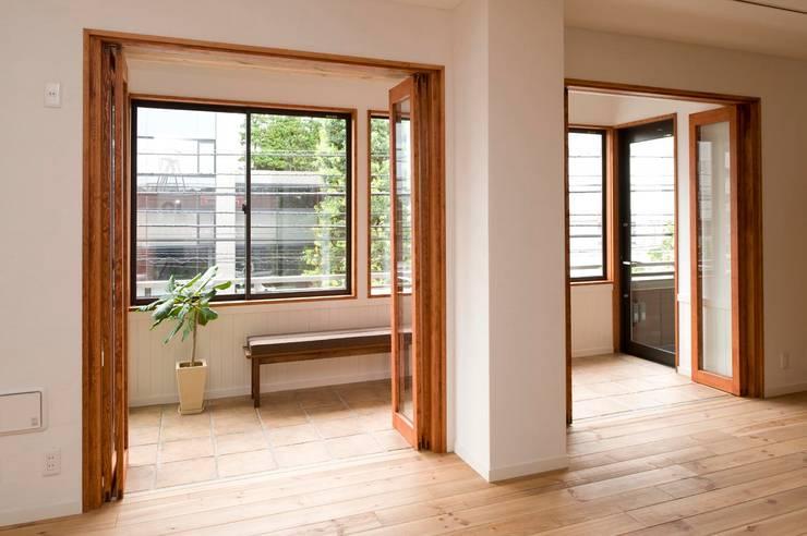 自然素材を用いて、オリジナリティーのある改修を~2世帯リノベ~: 株式会社スタイル工房が手掛けたです。