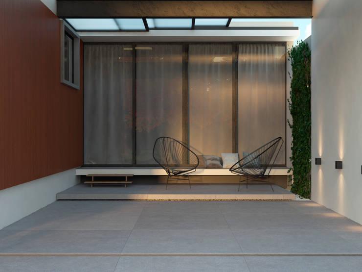 Residência AEF+: Casas  por Quattro+ Arquitetura,Moderno