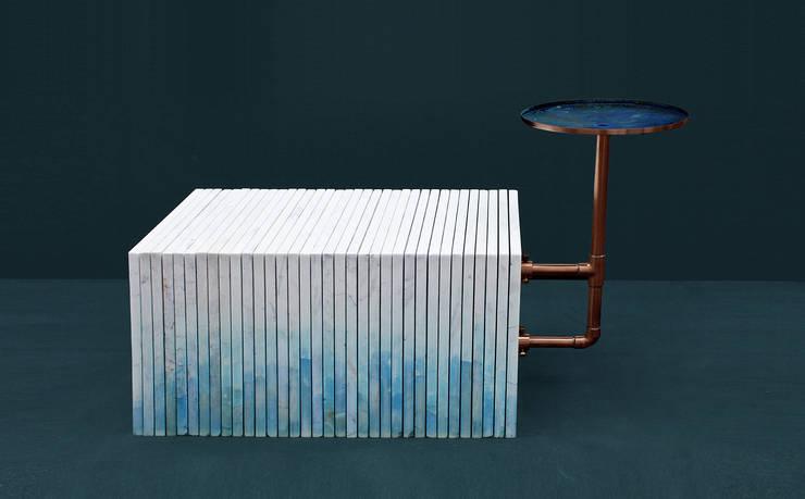 Marble bench:   door HandMade Industrials, Minimalistisch