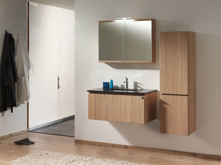 modern Bathroom by F&F Floor and Furniture