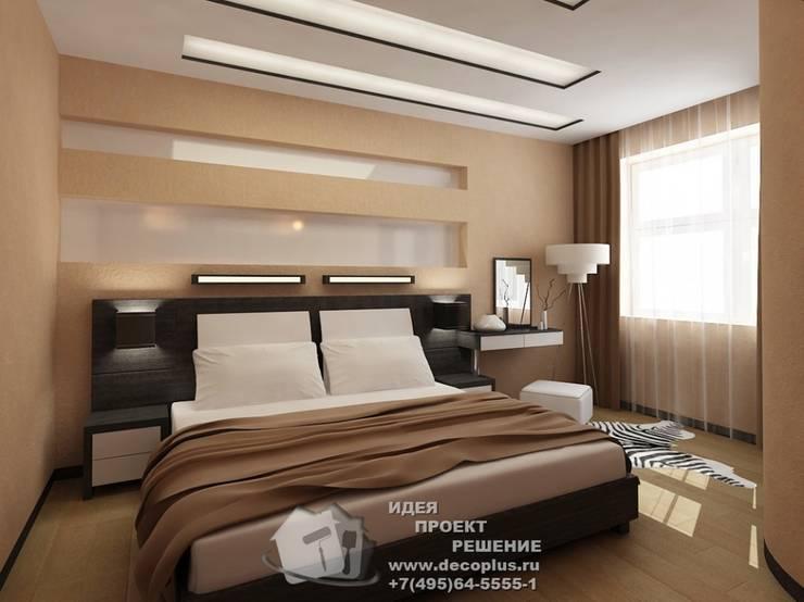 Дизайн спальни в современном стиле: Спальни в . Автор – Бюро домашних интерьеров