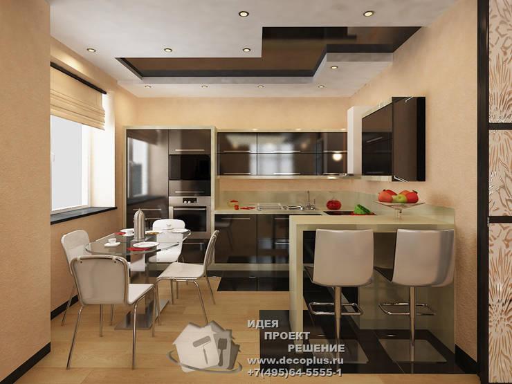 Дизайн кухни в квартире 45: Кухни в . Автор – Бюро домашних интерьеров
