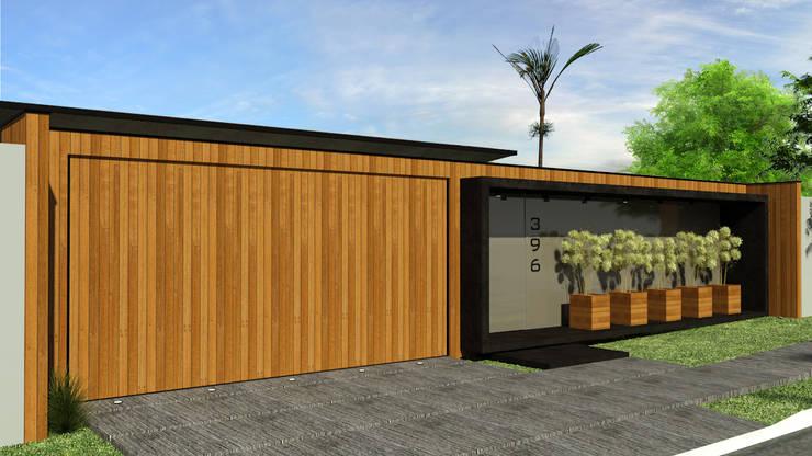 Residência DV+: Casas modernas por Quattro+ Arquitetura