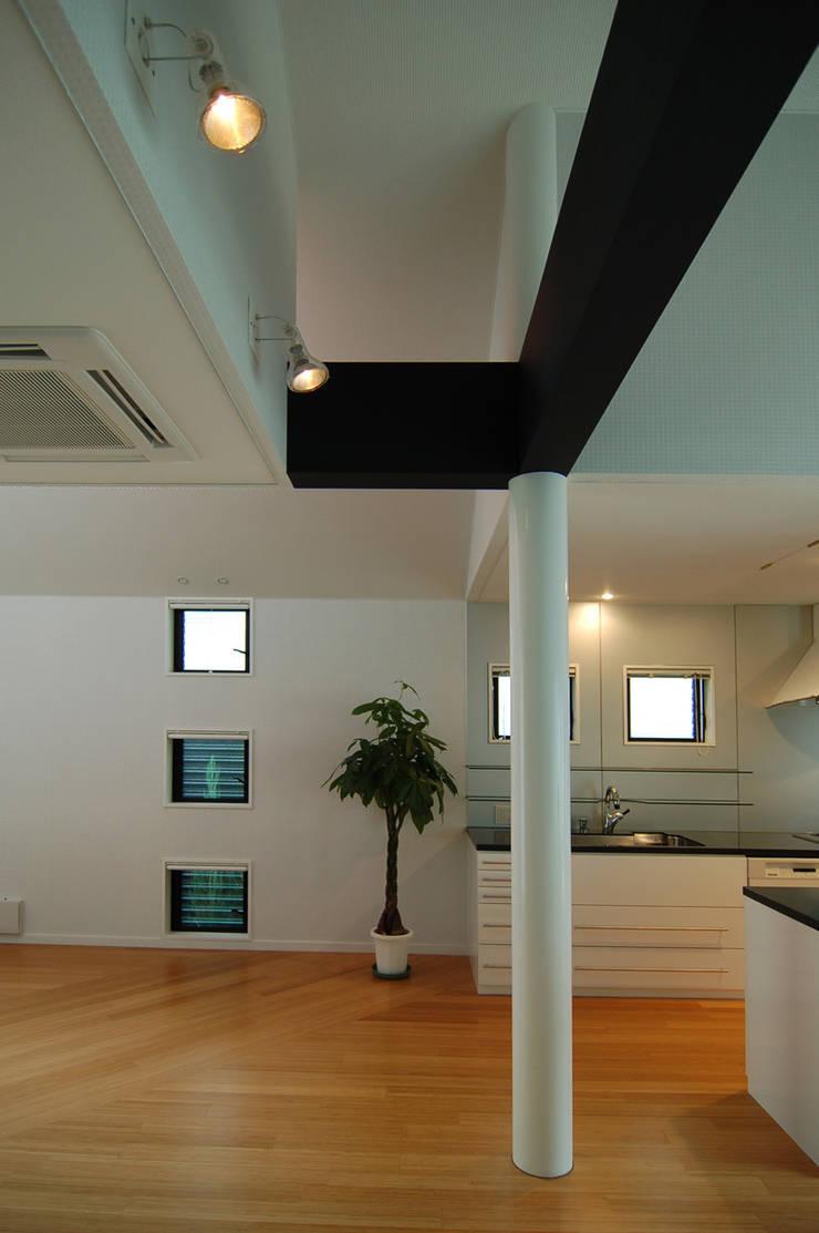 西落合の家: 加藤將己/将建築設計事務所が手掛けたキッチンです。