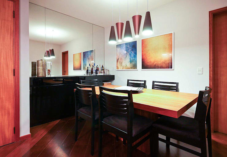 Comedores de estilo  de KFOURI ZAHARENKO arquitetura e design