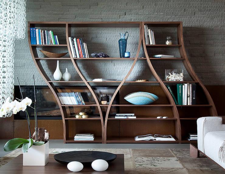 TONON - Modell SILHOUETTE: moderne Wohnzimmer von Stefan Heiliger Design