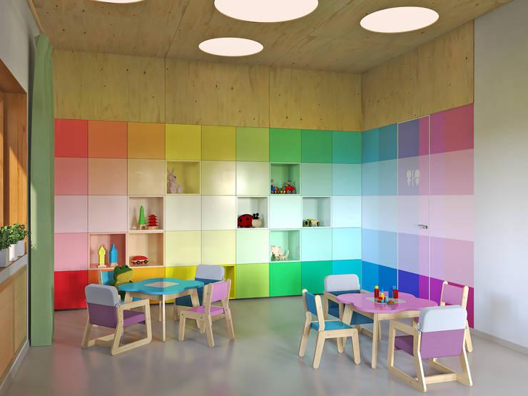 Chambre d'enfant de style  par Architectural Bureau DAOFORM