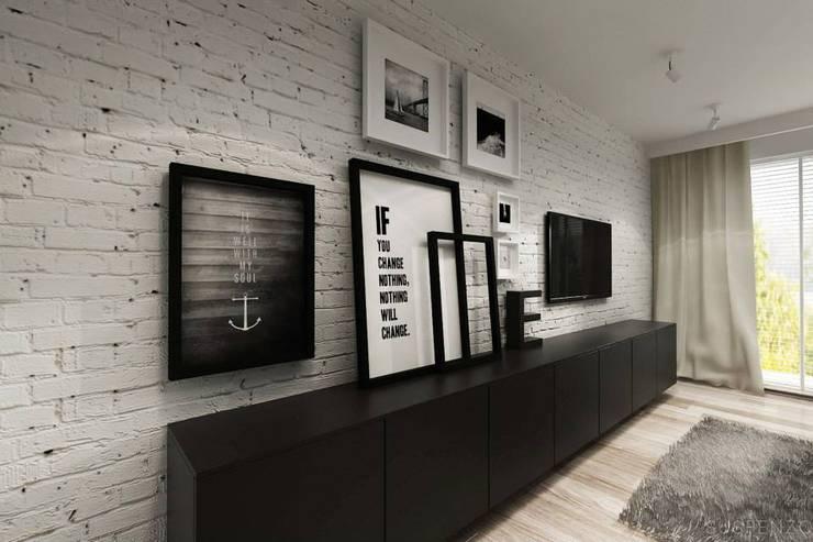 Mieszkanie żeglarza: styl , w kategorii  zaprojektowany przez Projektowanie Wnętrz Suspenzo