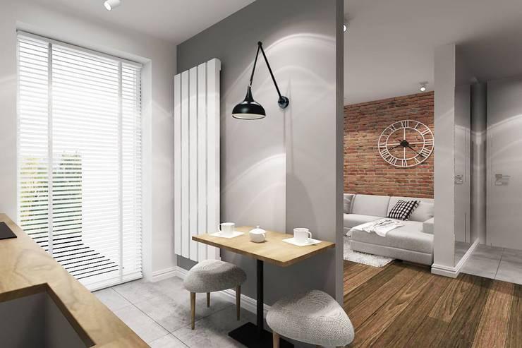 Mieszkanie Warszawa: styl , w kategorii  zaprojektowany przez Projektowanie Wnętrz Suspenzo