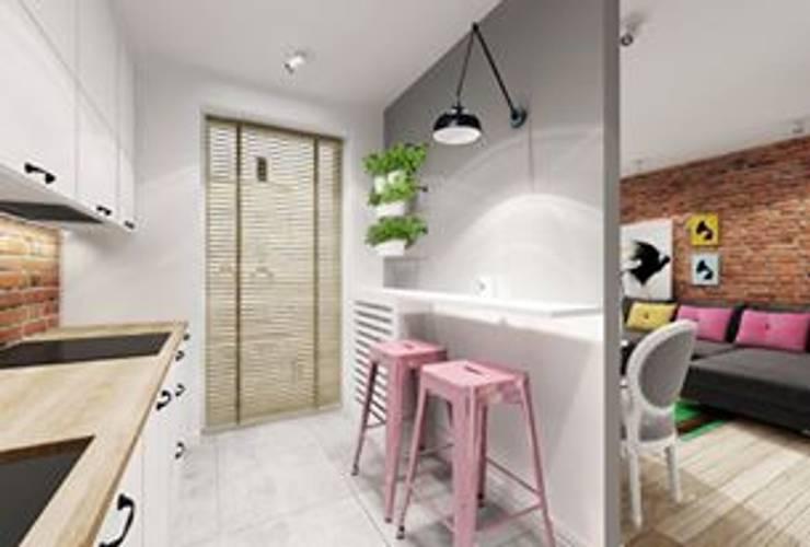 Mieszkanie Warszawa 2: styl , w kategorii  zaprojektowany przez Projektowanie Wnętrz Suspenzo,