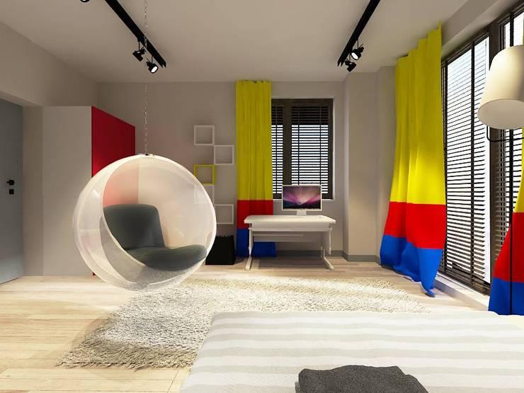 Pokój dziecka Otwock: styl , w kategorii  zaprojektowany przez Projektowanie Wnętrz Suspenzo
