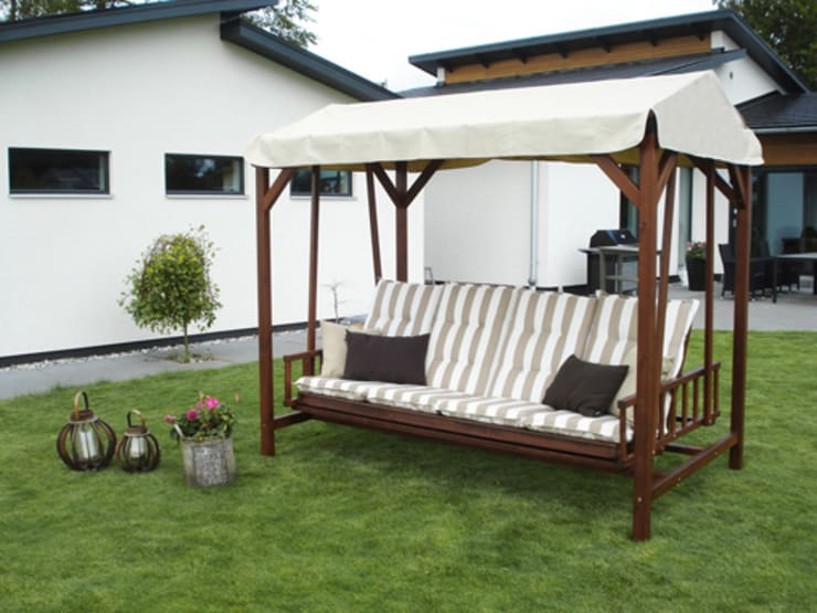 Jardim  por Garden Furniture Scotland ltd