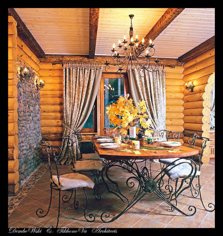 В гостях у сказки: Столовые комнаты в . Автор – D&T Architects