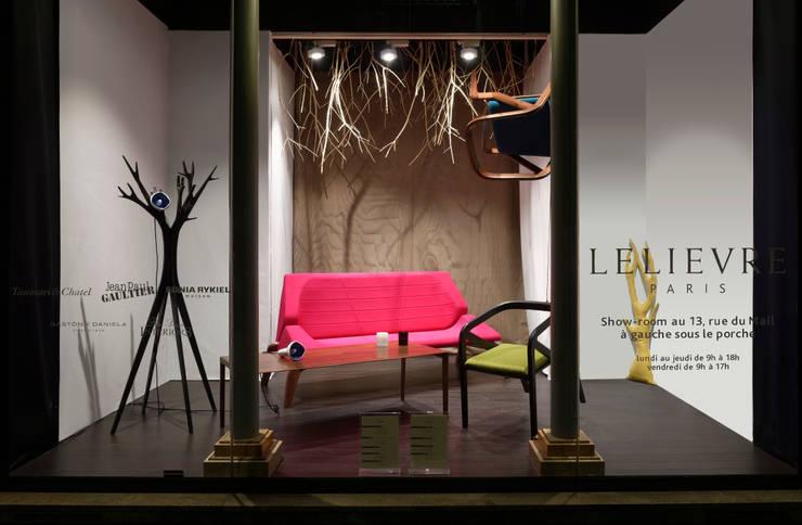 CANOPEE: Salon de style  par Alcyone Design