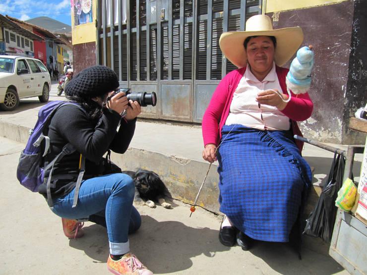 FairMail Peru fotografe Angeles (18) in actie:   door FairMail, Tropisch
