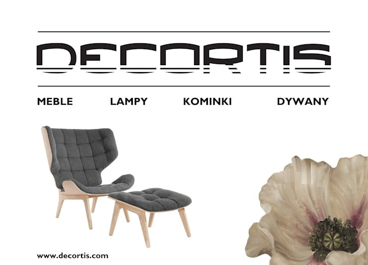 Salas de estilo  por DECORTIS.COM