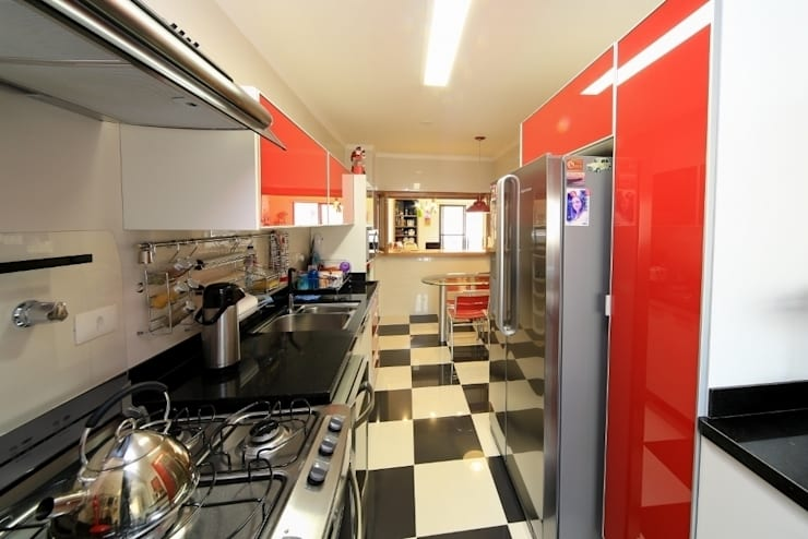 Cozinha: Cozinhas modernas por Item 6 Arquitetura e Paisagismo