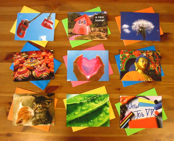 FairMail's fair trade wenskaarten:   door FairMail, Tropisch
