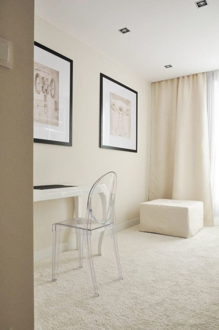 Bielany – apartament: styl , w kategorii  zaprojektowany przez Projektowanie Wnętrz Suspenzo