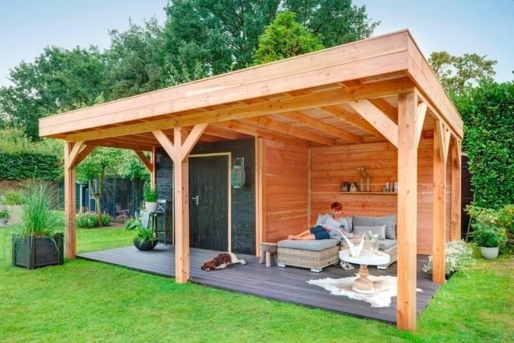 Jardines de estilo escandinavo de NuBuiten.nl