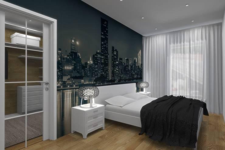 Спальня: Спальни в . Автор – АМСД, Минимализм