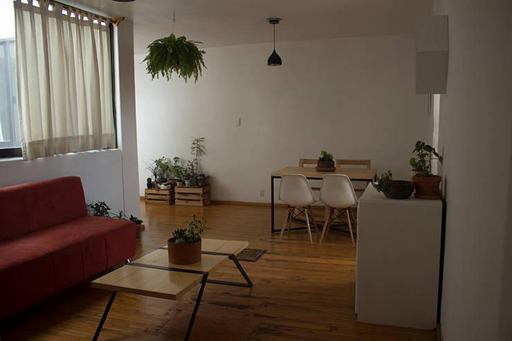 Un huerto en tu comedor: Comedor de estilo  por Gaia Design