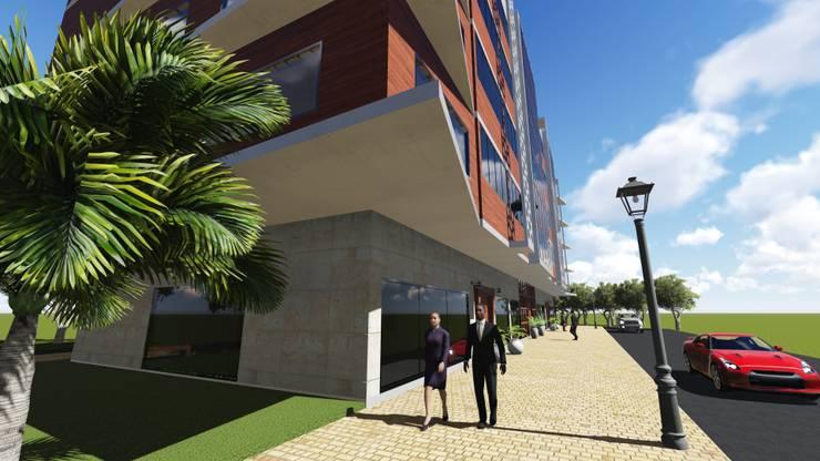 Tuğçe Bozdoğan Mimarlık – İş Merkezi Projesi:  tarz Ofisler ve Mağazalar