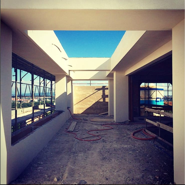 PRIVATE HOME IN PERUGIA - 2012 +315.50: Case in stile  di Cacciamani Diego Architetto