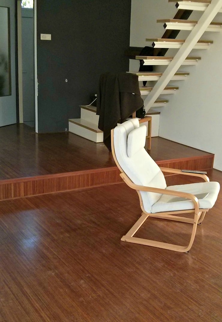 oude woonkamer:   door PIER architecten