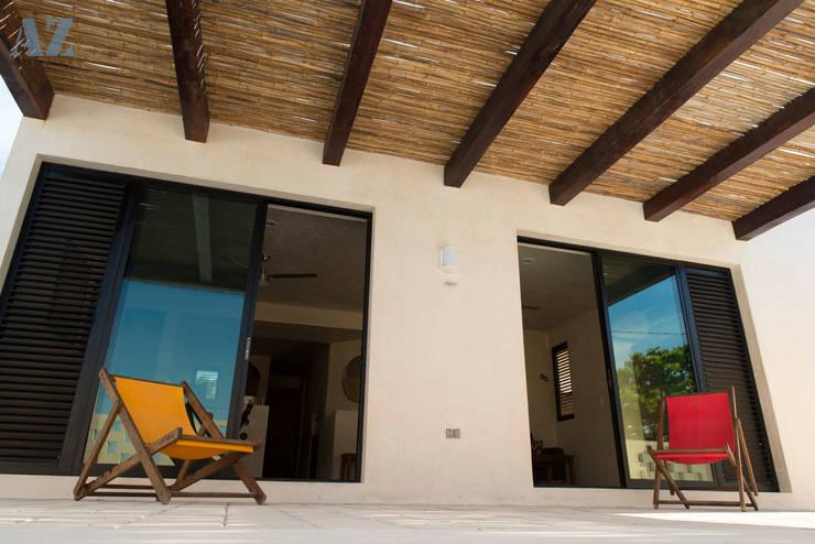 Casas de estilo moderno por Alberto Zavala Arquitectos