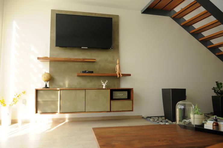 Living room by Mediamadera
