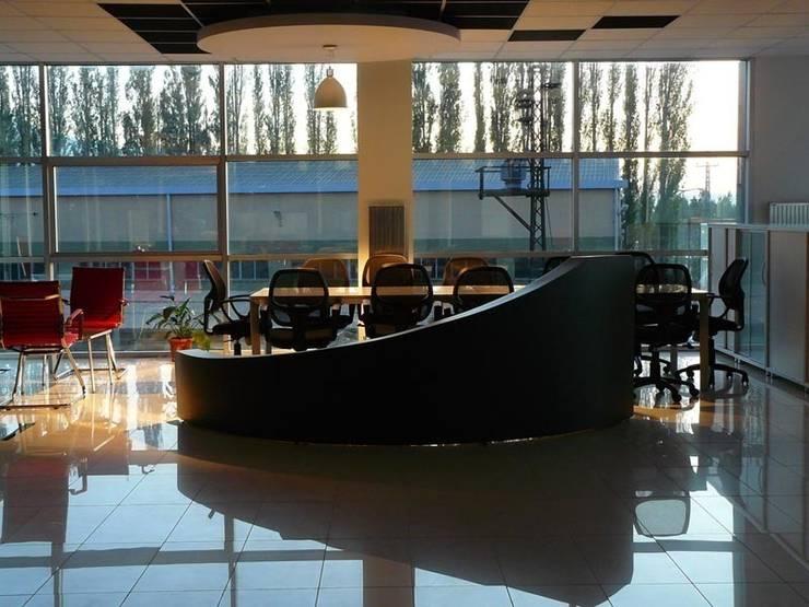 santimetre mimarlık – OFİS:  tarz Ofis Alanları