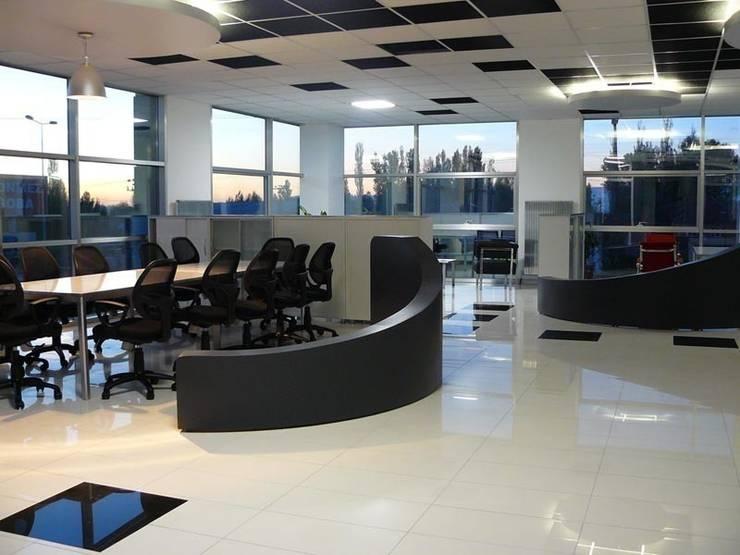 santimetre mimarlık – OFİS:  tarz Ofis Alanları & Mağazalar