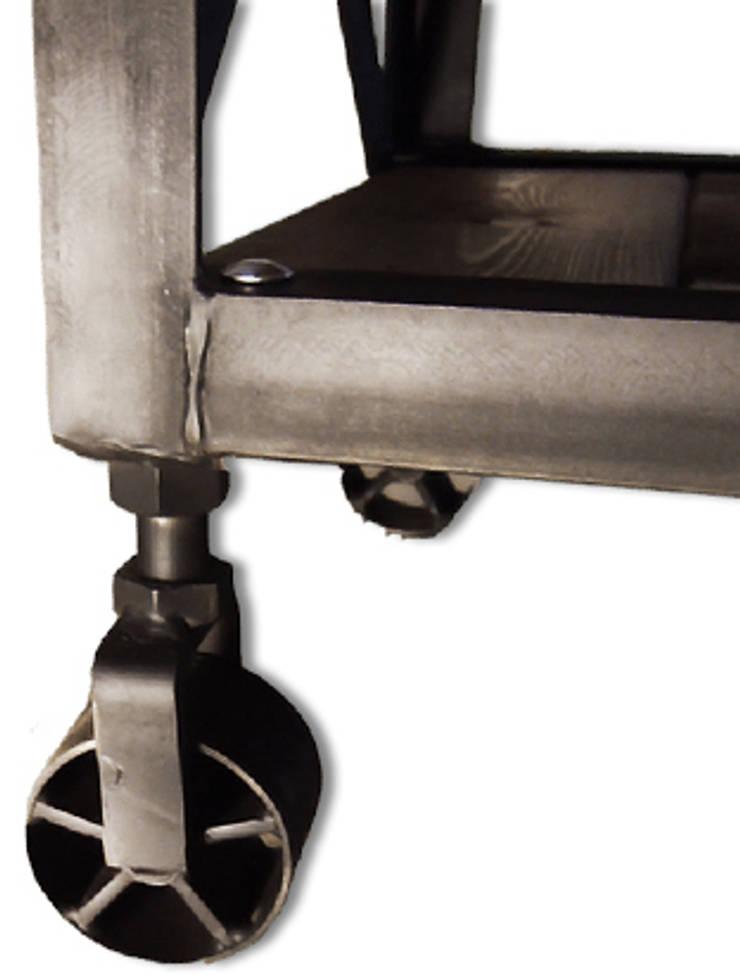 """Ława industrialna """"EAST HARBOUR"""": styl , w kategorii  zaprojektowany przez NordLoft - Industrial Design,Industrialny"""