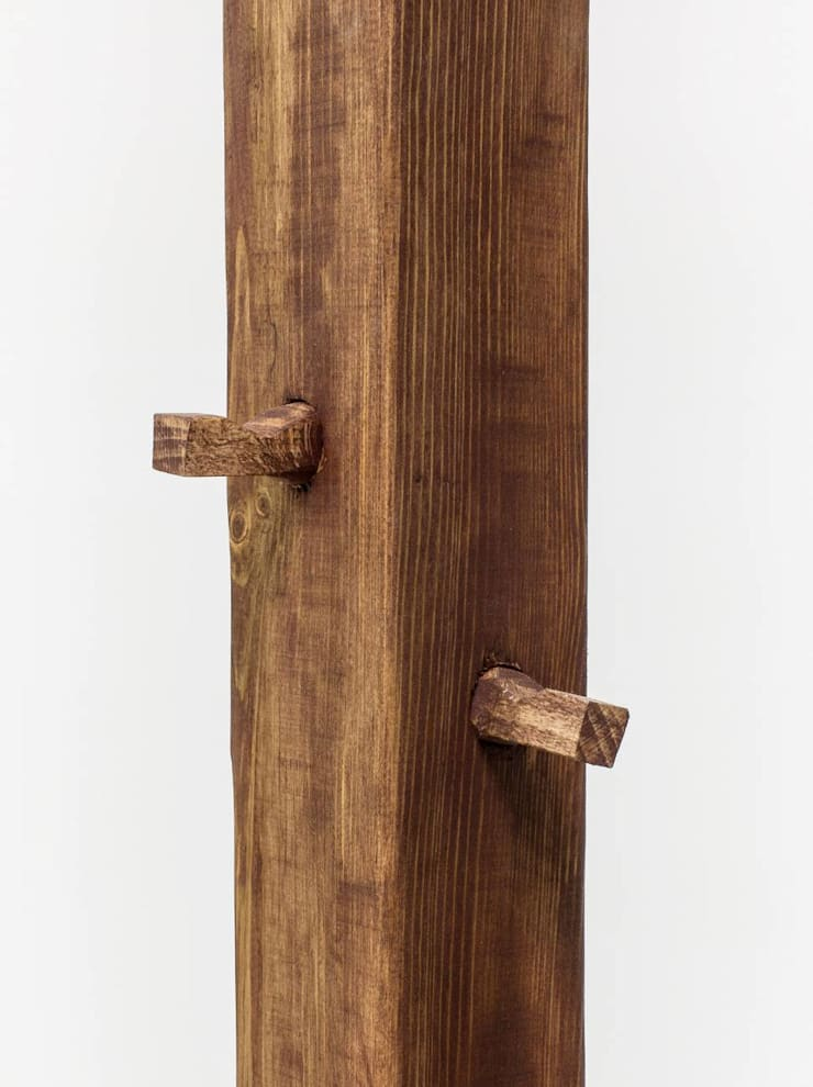 """Wieszak stojący industrialny """"RUSTY"""": styl , w kategorii Korytarz, hol i schody zaprojektowany przez NordLoft - Industrial Design"""