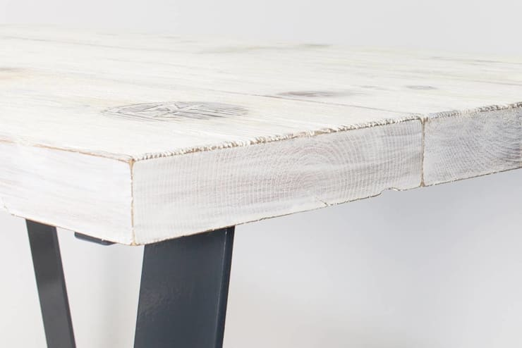 """Stół kuchenny industrialny """"OPEN DECK"""": styl , w kategorii  zaprojektowany przez NordLoft - Industrial Design,Industrialny"""