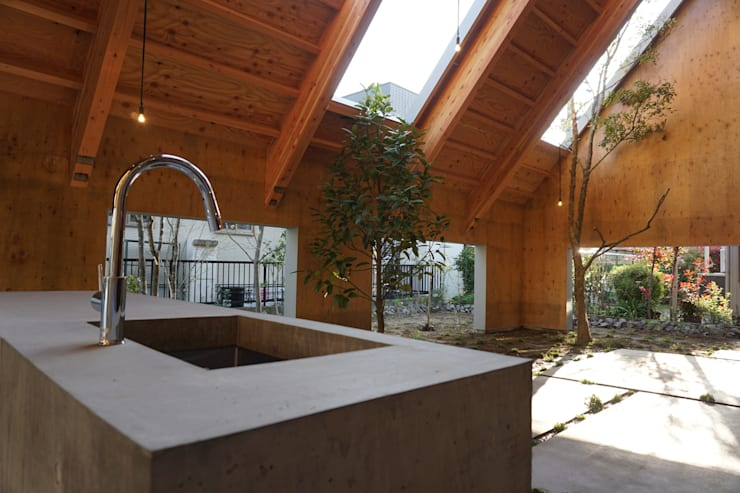 安城の庭: GREENSPACEが手掛けた庭です。