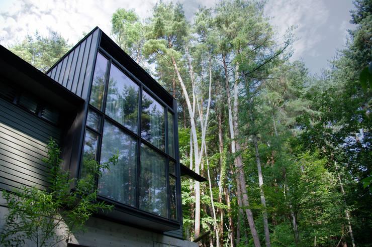 K-HOUSE外観1: 3*D空間創考舎一級建築士事務所が手掛けた家です。,北欧