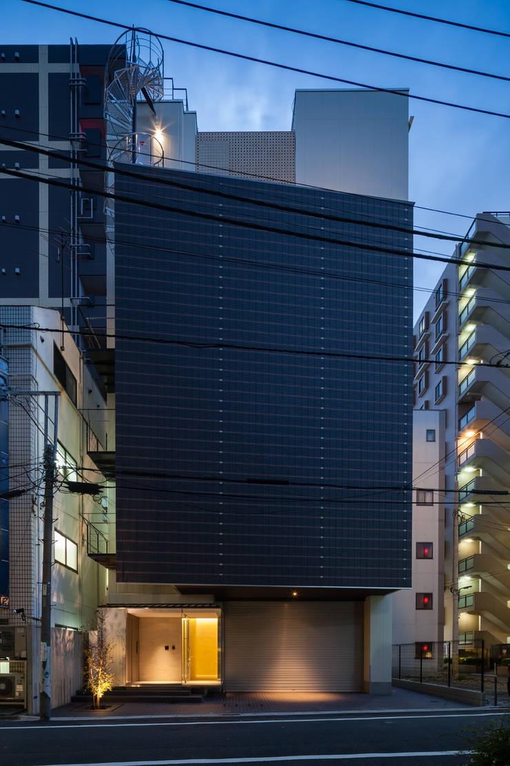 S-HOUSE外観2: 3*D空間創考舎一級建築士事務所が手掛けた家です。,