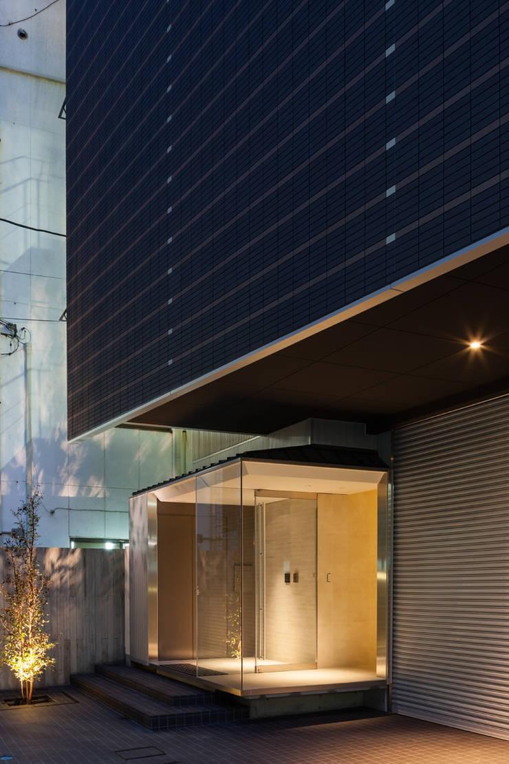 S-HOUSE外観3: 3*D空間創考舎一級建築士事務所が手掛けた家です。,