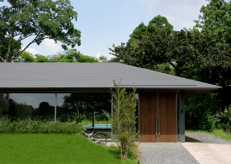 M-HOUSE外観1: 3*D空間創考舎一級建築士事務所が手掛けた家です。
