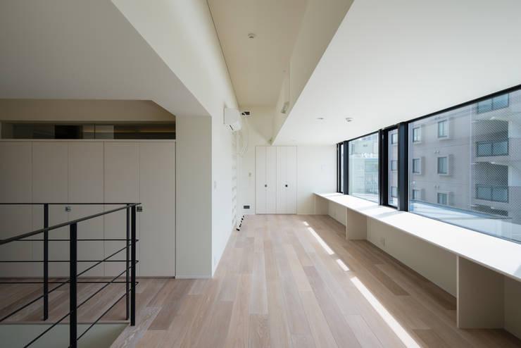 K-HOUSE内観5: 3*D空間創考舎一級建築士事務所が手掛けた子供部屋です。,