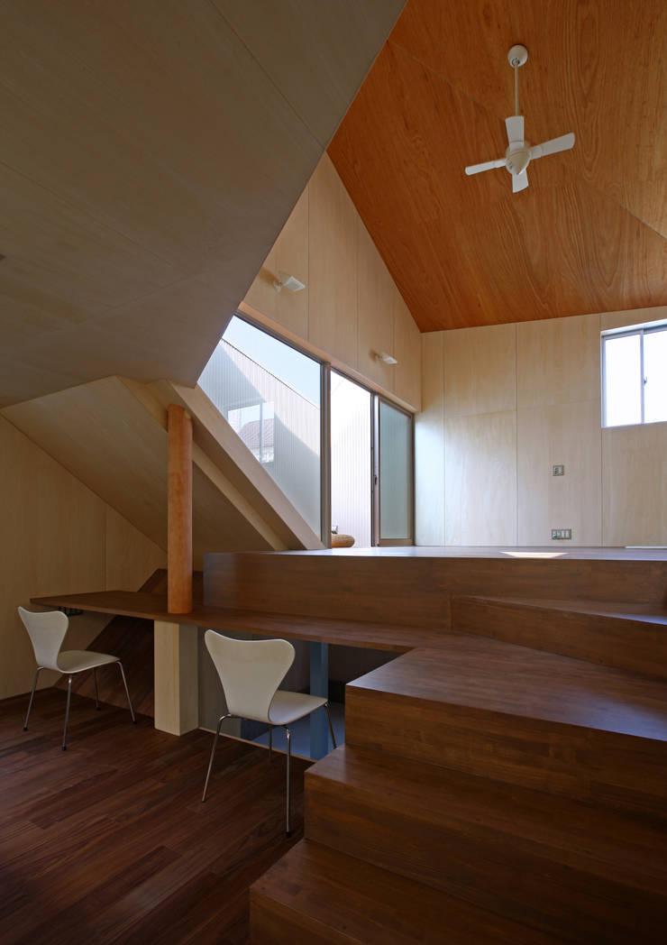 赤塚の住宅: アトリエハコ建築設計事務所/atelier HAKO architectsが手掛けたです。