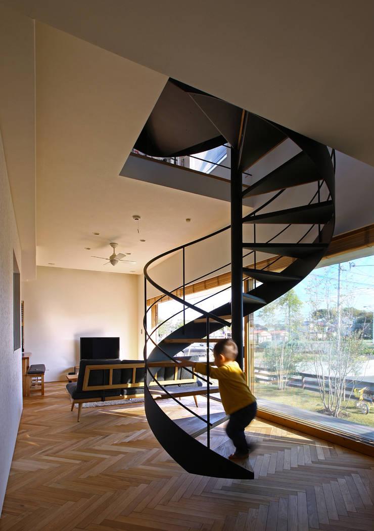 キナリの家: アトリエハコ建築設計事務所/atelier HAKO architectsが手掛けたです。,