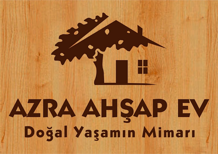 Country style garden by AZRA AHŞAP EVLER Country
