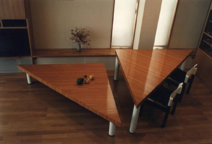 払方の家: 加藤將己/将建築設計事務所が手掛けたダイニングルームです。